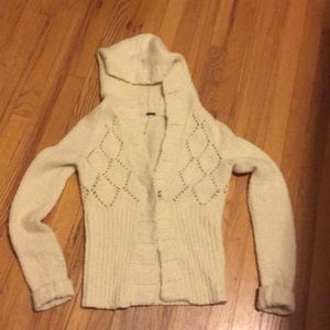 Free People cream sweater